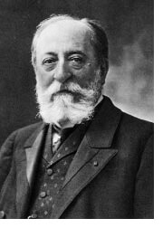 Camille Saint-Saëns was a French composer, organist, conductor and pianist of the Romantic era.  His best-known works are Danse macabre (1874)  and The Carnival of the Animals (1886).