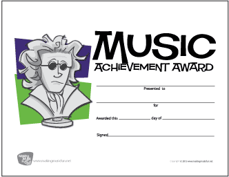 Beethoven Music Achievement Award