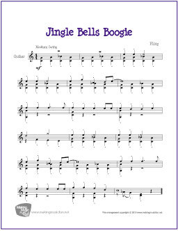 how to play jingle bells on guitar for beginners