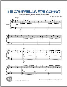 The campbells are coming lyrics